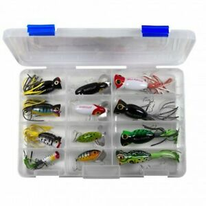 12 Fred Arbogast Topwaters New in Case - Jitterbugs & Hula Poppers