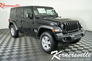 2020 Jeep Wrangler Sport 4WD I4 Turbo SUV USB AUX Backup Camera New 2020 Jeep Wrangler Unlimited Sport 4WD SUV 31Dodge 200236