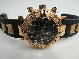Invicta Reserve Subaqua Noma I Chronograph Watch 19000 Swiss Made Rose Gold
