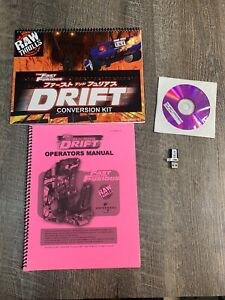 FAST & FURIOUS DRIFT CONVERSION KIT RAW THRILLS DONGLE RECOVERY DISKS MANUALS