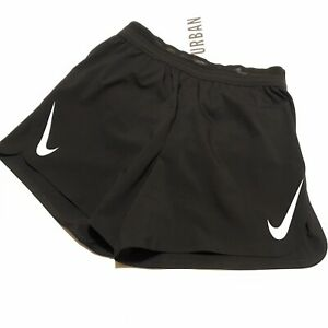 Nike Running Shorts AeroSwift 2-in-1 NWT Lightweight Small Black Track Gym