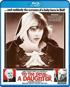 To the Devil...A Daughter New Blu ray Widescreen
