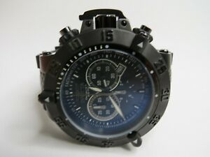 Invicta Men's Subaqua Noma III 11843 Watch Chronograph Black