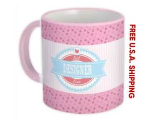 Best DESIGNER Ever : Gift Mug Cute Christmas Birthday Vintage Retro