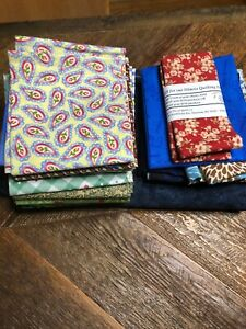 Pre Cut Quilting Square#x27;s 22pc Assorted Sizes $10.00