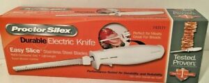 Proctor Silex 74311 Y Carving Electric Knife Stainless Steel Brand New in box