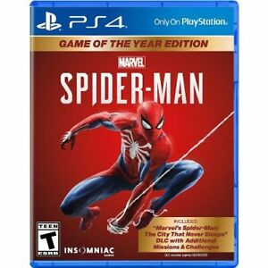 Marvel s Spider Man: Game of The Year Edition PS4 For PlayStation 4