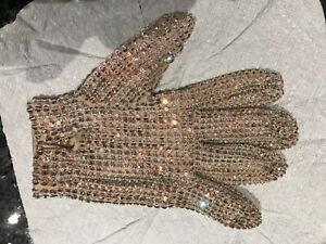 MICHAEL JACKSON OWN WORN OWNED GLOVE FROM HISTORY TOUR NO FEDORA SIGNED jacket