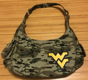 West Virginia Camouflage Purse Mountaineers Womens Purse Tote Bag