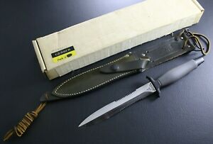 NEW IN BOX - Vintage Gerber Mark II MK 2  made in 1977 - green sheath