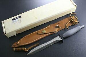 NEW IN BOX - Vintage Gerber Mark II MK 2  made in 1977 - brown sheath