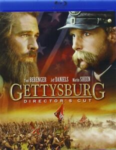 GETTYSBURG New Sealed Blu ray Directors Cut $12.91