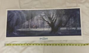 Disney Frozen Limited Edition Lithograph Print Premiere 272700 LITHO PROMO SWAG