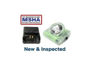 Wisdom® Wise Lite 2 Portable Cordless MSHA Approved Cap Lamp NWB 30 AC Charger $129.00