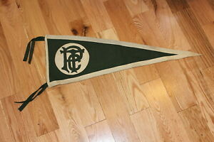 1910s Pennsylvania College of Technology? 32quot; soft felt pennant w sewn letters $59.99