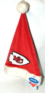NEW KIDS Santa Hat NFL Kansas City Chiefs Football Forever Collection 3