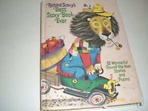 Best Story Book Ever by Richard Scarry's Vintage 1968 Hardcover