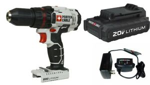 Porter Cable PCC601LAP 20V Max Lithium Ion 1 2in Drill Driver Kit $64.99