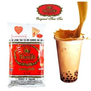 3 , 5 X Original Thai Tea Mix Cha Tra Mue Number One Brand Thailand Best Seller