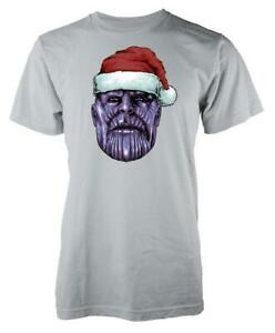Christmas To Galaxy Santa Thanos Adult T Shirt