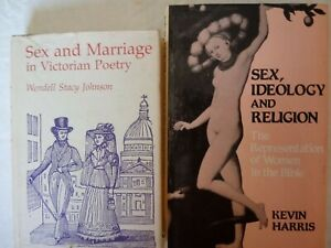 SEX amp; MARRIAGE VICTORIAN in POETRY SEX IDEOLOGY amp; RELIGION WOMAN in BIBLE 2 Pk $10.75