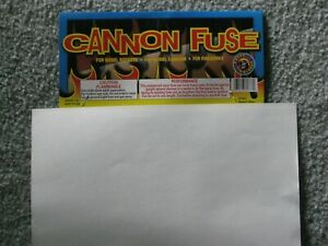 Safety Cannon Fuse Labels Perfect Medium Fast Hobby Firework Fuse