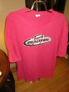 Women#x27;s Delta Pink Realtree Short Sleeve Top Size 2 X Very Good Condition
