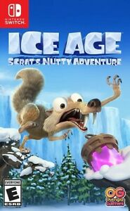 Ice Age: Scrat#x27;s Nutty Adventure for Nintendo Switch New Video Game