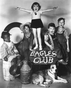 Our Gang The Pinch Singer Kids Singing On Eagles Club Sign W Dog 8x10 Photo $9.75
