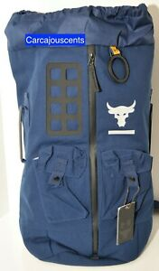 Under Armour Project Rock 60 Bag BackPack Navy #1345663 $67.98