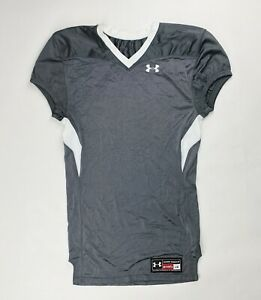 Under Armour Stock Game Football Jersey Mens Large Gray White 1249206 $13.20