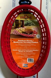 BBQ Accessories Outdoor Picnic/Barbecue Serving Platter 4 Pack Ready For Summer