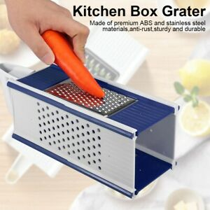 Kitchen Grater Box Vegetables And Fruits Grinder Slicing Accessories Tool