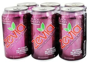 Zevia - All Natural Soda Sweetened with Stevia 12 oz. Cans Ginger Root Beer