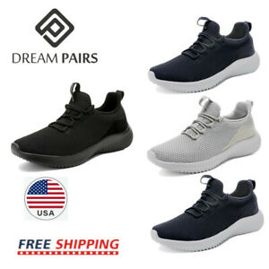 DREAM PAIRS Mens Sneakers Running Tennis Athletic Walking Trainer Casual Shoes $14.25