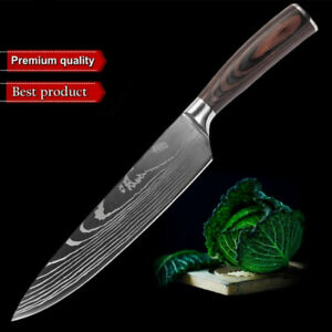 Chef Knife 8 inch High Carbon German Damascus Stainless Steel Kitchen Knife