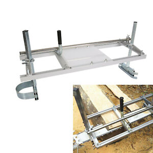 Fits 14quot; 36quot; Chainsaw Guide bar Chain Saw Mill Log Planking Lumber Portable $53.95