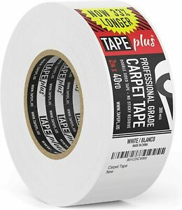 Professional Rug Tape - 2 Inch by 40 Yards - 120 Feet! - Double Sided Non-Slip C