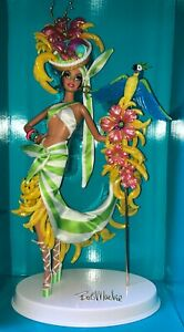 Bob Mackie Brazilian Banana Bonanza 2012 Gold Label 8000 Barbie Doll_W3515_NRFB