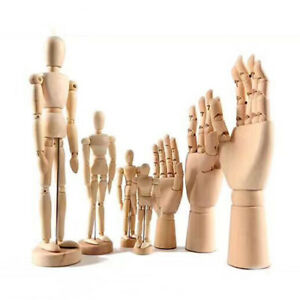 For Beginners Wooden LR Hand Human Body Figure Artist Drawing Sketch Model ZB