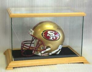 Football Nascar Medievil Helmet Glass Display Case