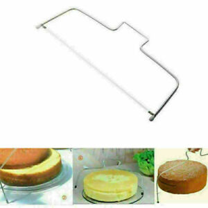Adjustable Wire Cake Slicer Cutter Leveller Decorating Bread Wire Decor Tools US