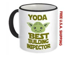 Yoda Best Building Inspector Ever : Gift Mug You Are Family Christmas