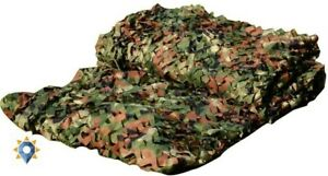 Large Military Netting Camo Tent Surplus Style Hunting Rifle Camouflage Net Kit