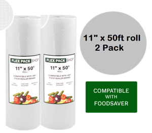 2 11quot; x 50 Ft. Rolls of Foodsaver style Vacuum Sealer Bags