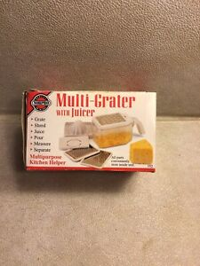 NORPRO 352 MULTI-GRATER Zester Juicer Reamer & Egg Separator - NEW in BOX