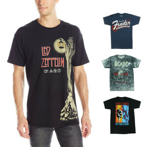 Mens Novelty Assorted Music Graphic Print Short Sleeve T Shirts $19.99