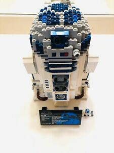 LEGO 10225 Star Wars UCS R2D2 Set R2-D2 Instructions Included 100% Complete