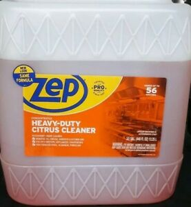 3.5 GAL 448 FL OZ Zep Heavy Duty Citrus Cleaner and Degreaser