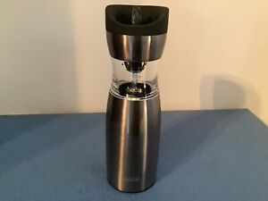 Wolfgang Puck Electric Gravity Spice Mill New in Box (Live Love Eat) Chrome